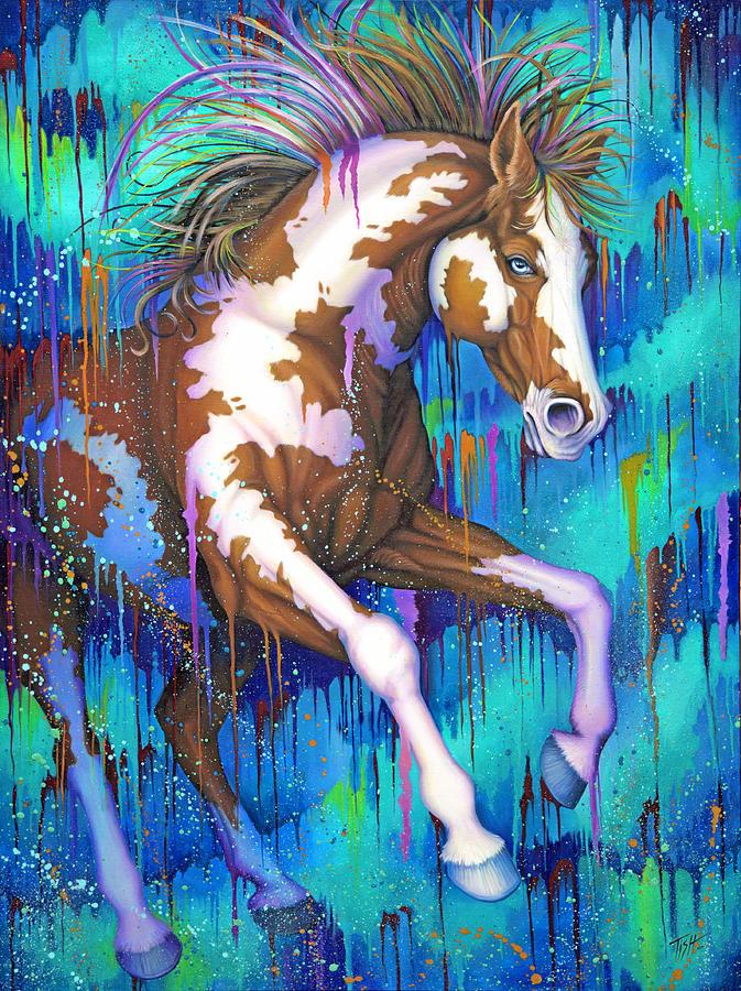 Paint Running Wild by Tish Wynne