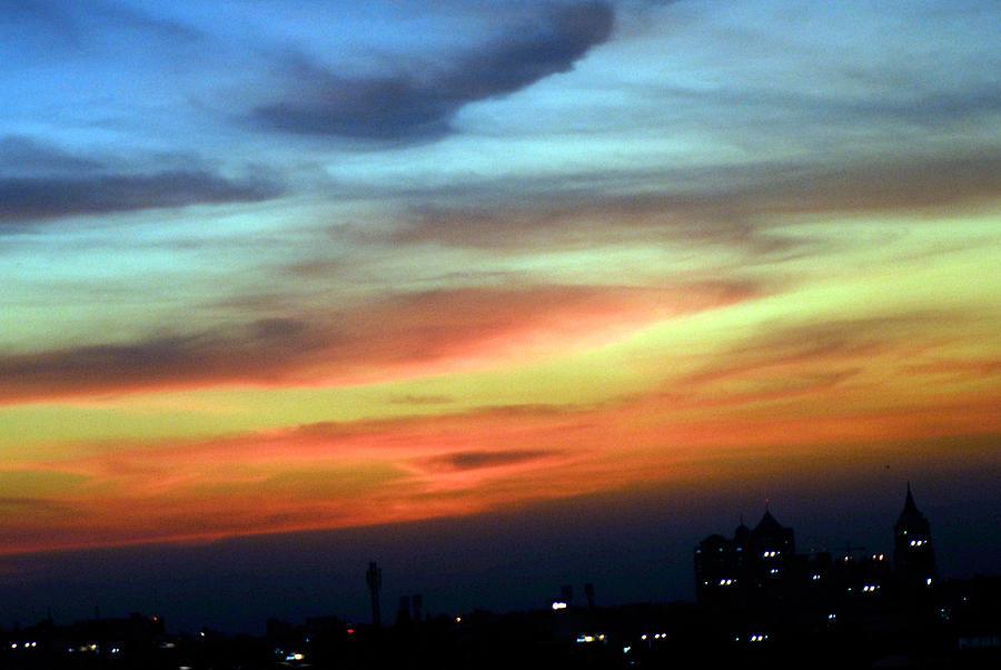 Sky Photograph - Paint The Sky by Srivatsa Ramachandra
