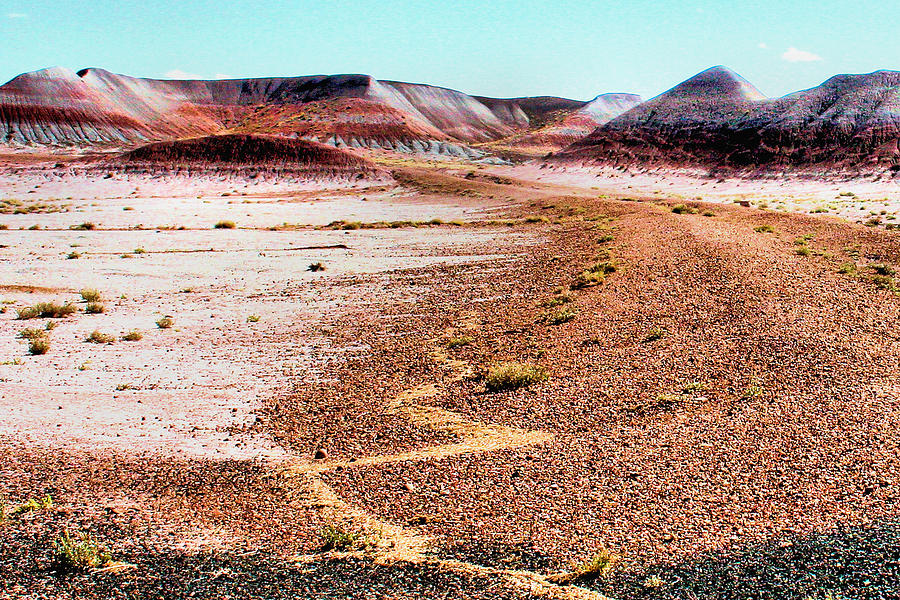 Landscape Photograph - Painted Desert 0319 by Sharon Broucek