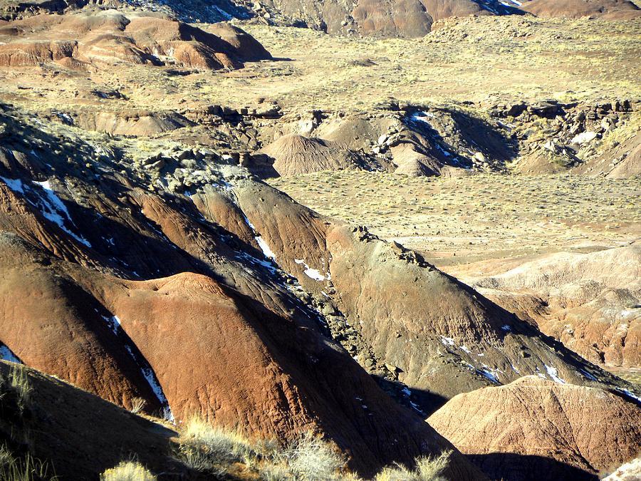Landscape Photograph - Painted Desert 11 by Patricia Bigelow