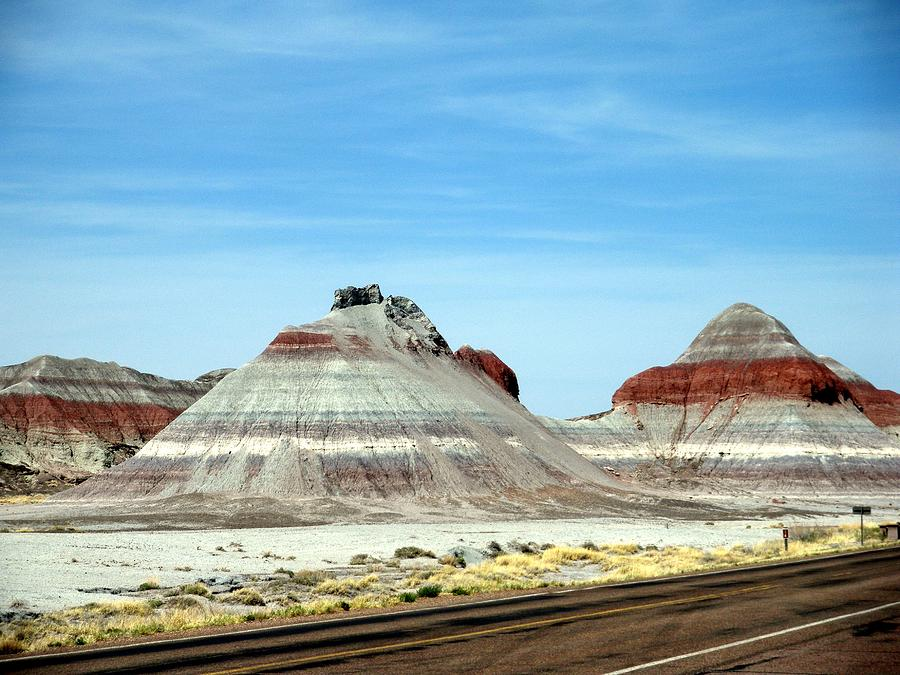 Arizona Photograph - Painted Desert 2 by Jeanette Oberholtzer