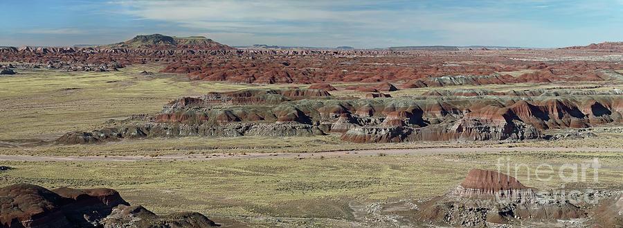 Painted Desert Photograph - Painted Desert by Rick Mann