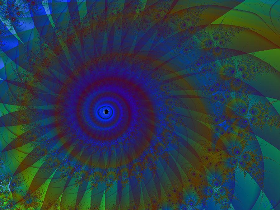 Fractal Digital Art - Painted Dream by Glorie Tortoso