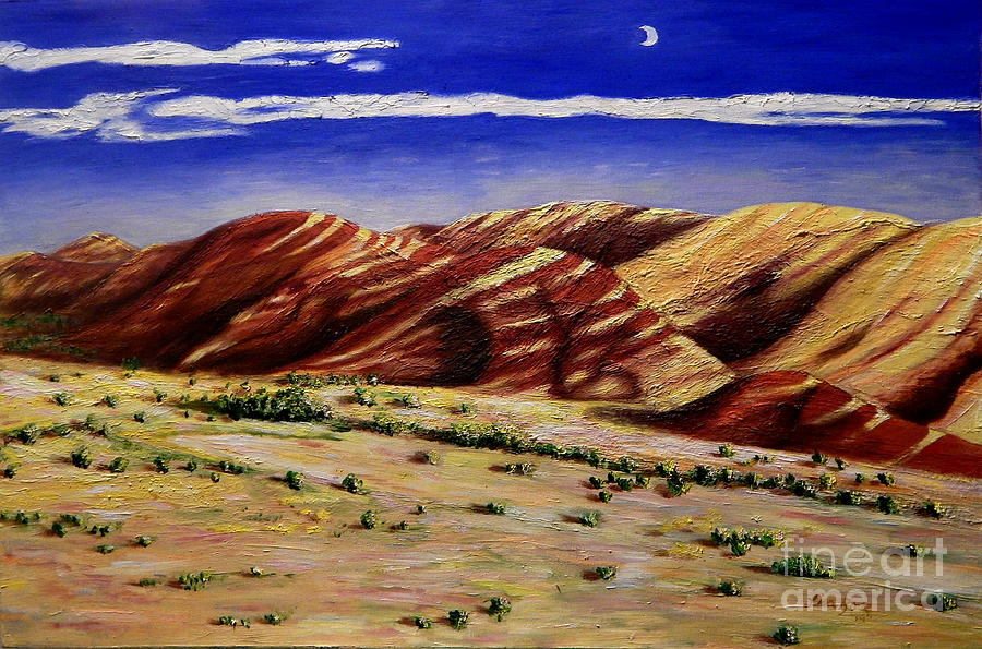 Painted Hills by Lisa Rose Musselwhite
