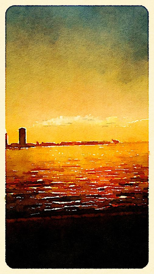 Waterlogue Photograph - Painted In Waterlogue by Collette Rogers