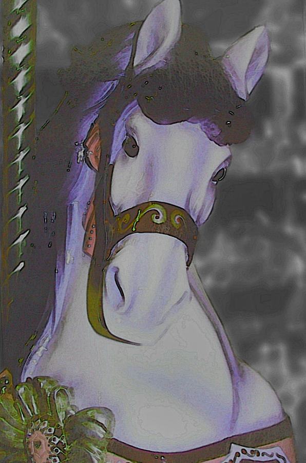 Horse Photograph - Painted by JAMART Photography