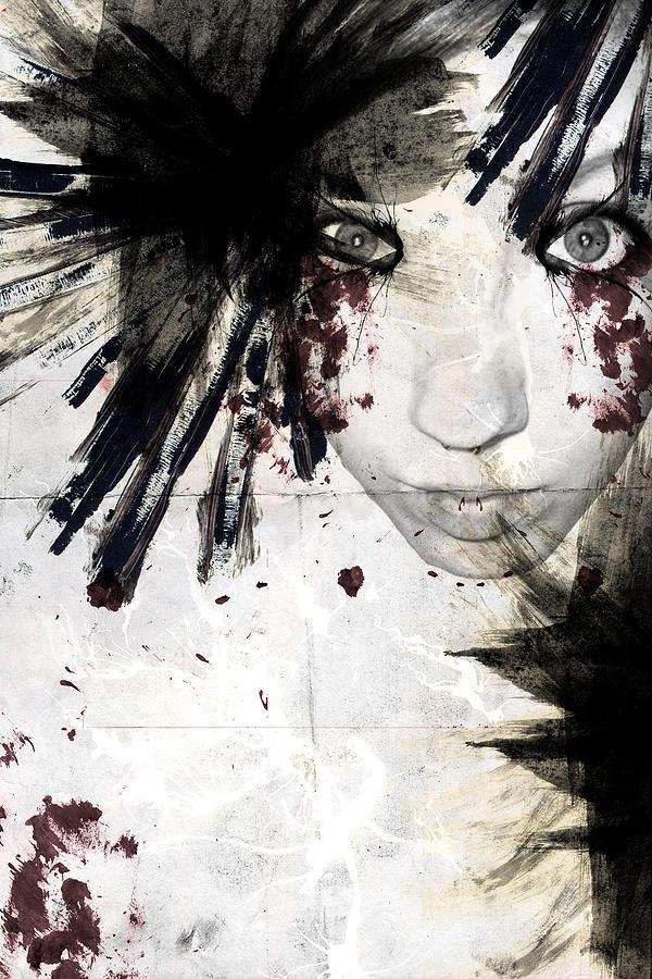 Paint Digital Art - Painted Lady by Carmen Blankenship