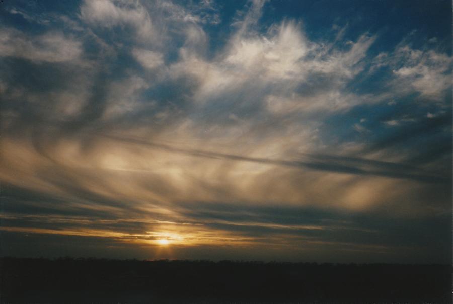 Sky Photograph - Painted Sky Montana by Gene Linder