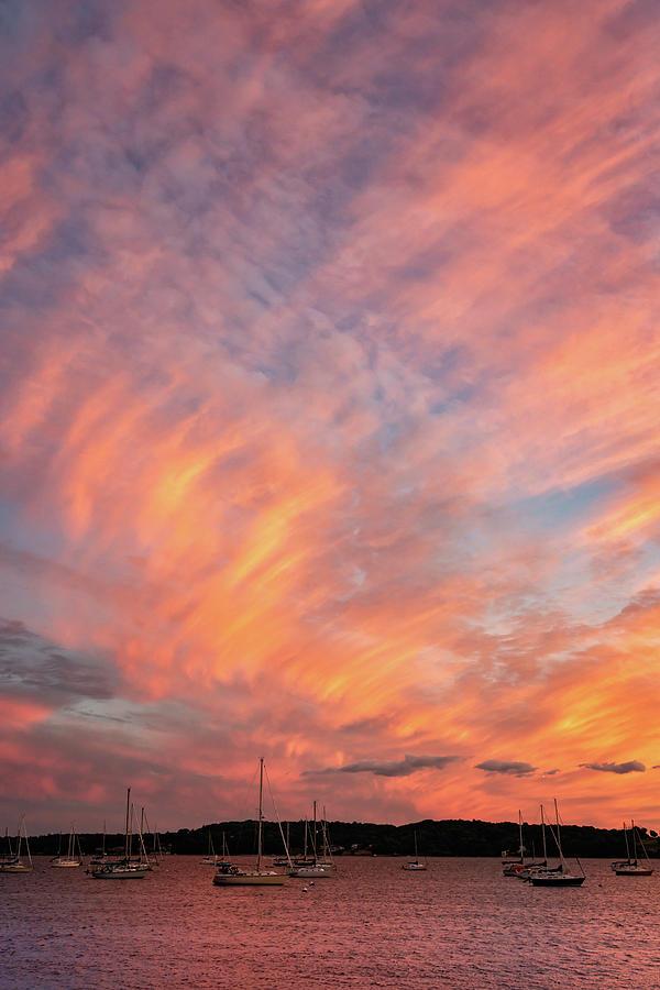 Painterly Sunset by Marzena Grabczynska Lorenc