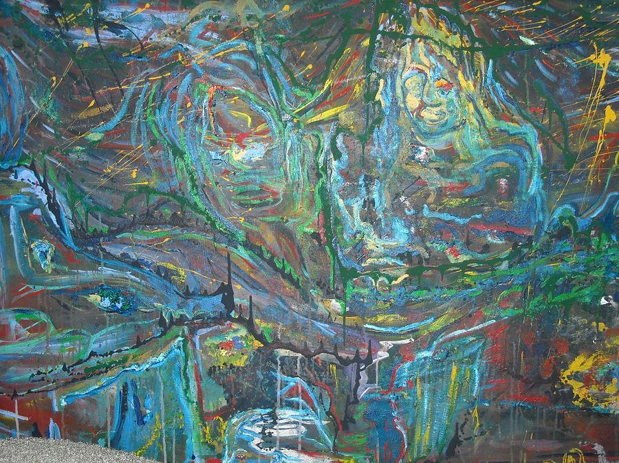 Painters Studio Dream Painting by Dorian Williams