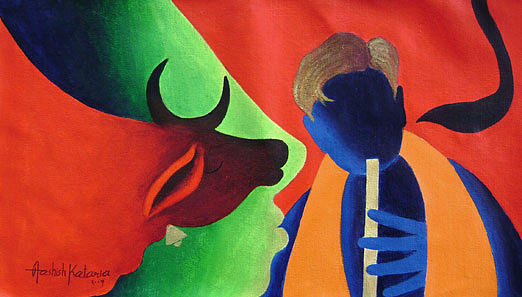 Painting Painting - Painting 3 by Aashish Kataria