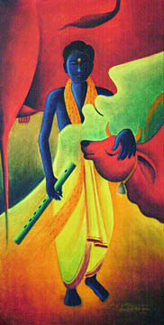 Painting Painting - Painting 6 by Aashish Kataria