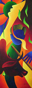 Painting Painting - Painting 7 by Aashish Kataria