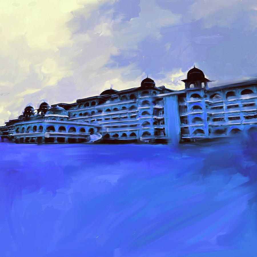Painting 797 2 Peshawar University by Mawra Tahreem