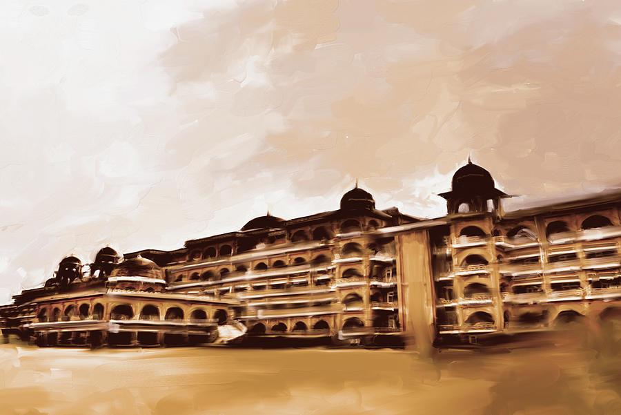 Painting 797 3 Peshawar University by Mawra Tahreem