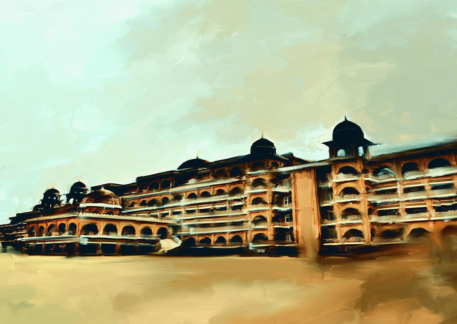 Painting 797 4 Peshawar University by Mawra Tahreem