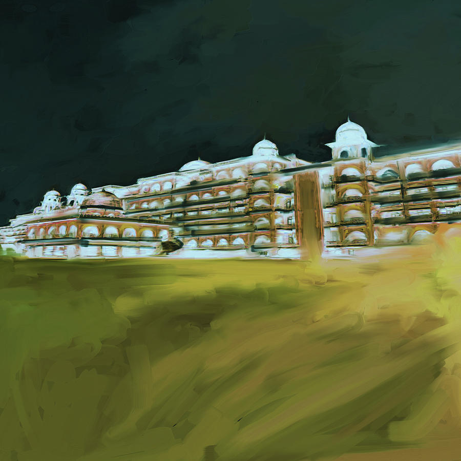Painting 797 5 Peshawar University by Mawra Tahreem