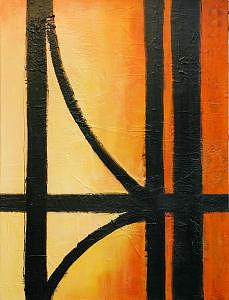 Painting- B Painting by Lida Van Bers