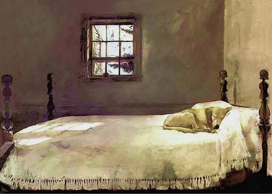 Painting Of The Print Master Bedroom Painting By Troy