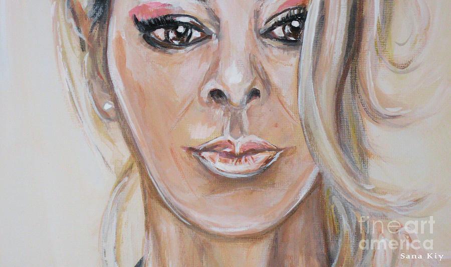 Painting Sandra  156/25/18 by Oksana Semenchenko