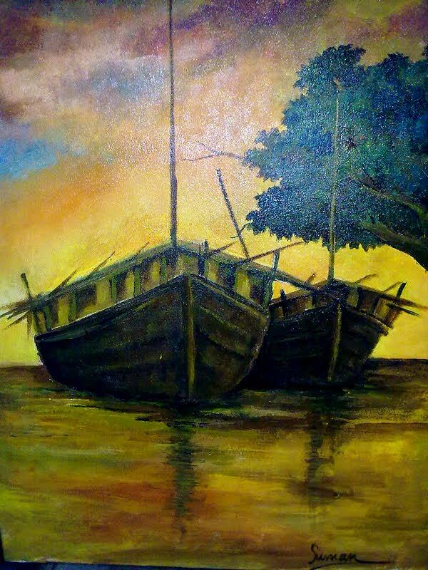 Painting Painting by Suman Ghosh