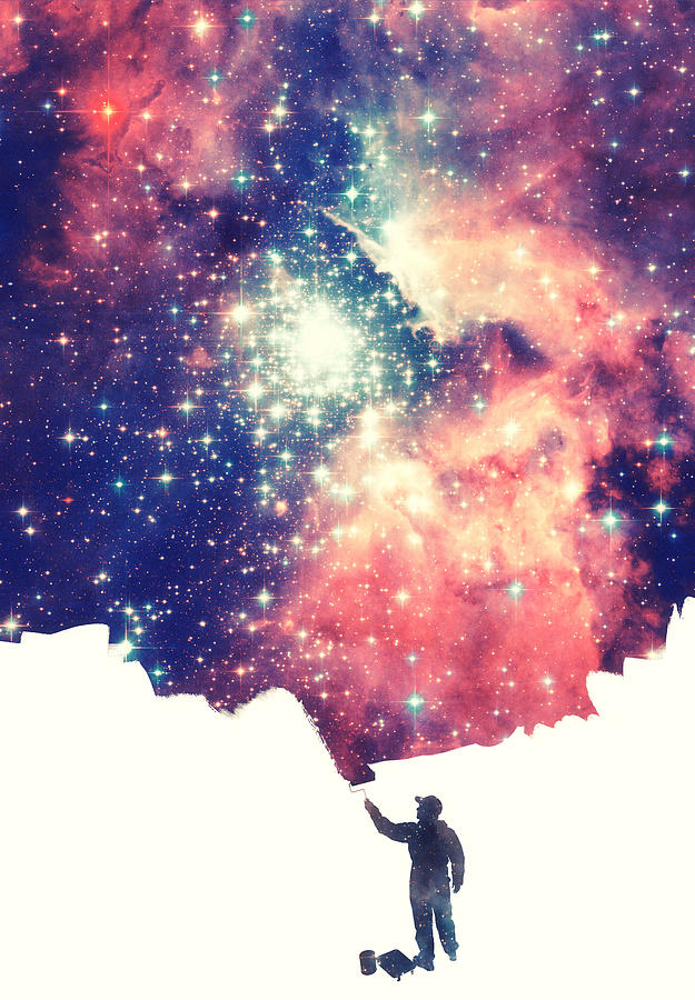 space photograph painting the universe awsome space art design by philipp rietz