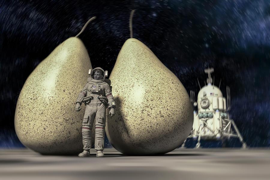 Pair Discovered In Space Digital Art