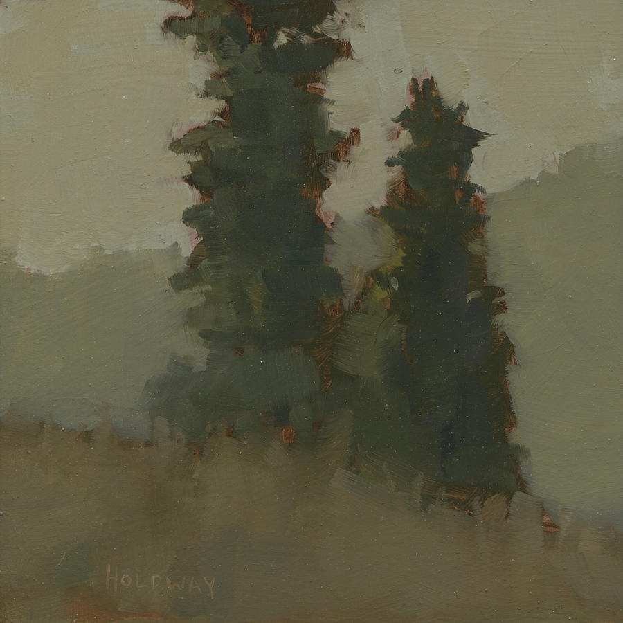 Pair of Trees by John Holdway