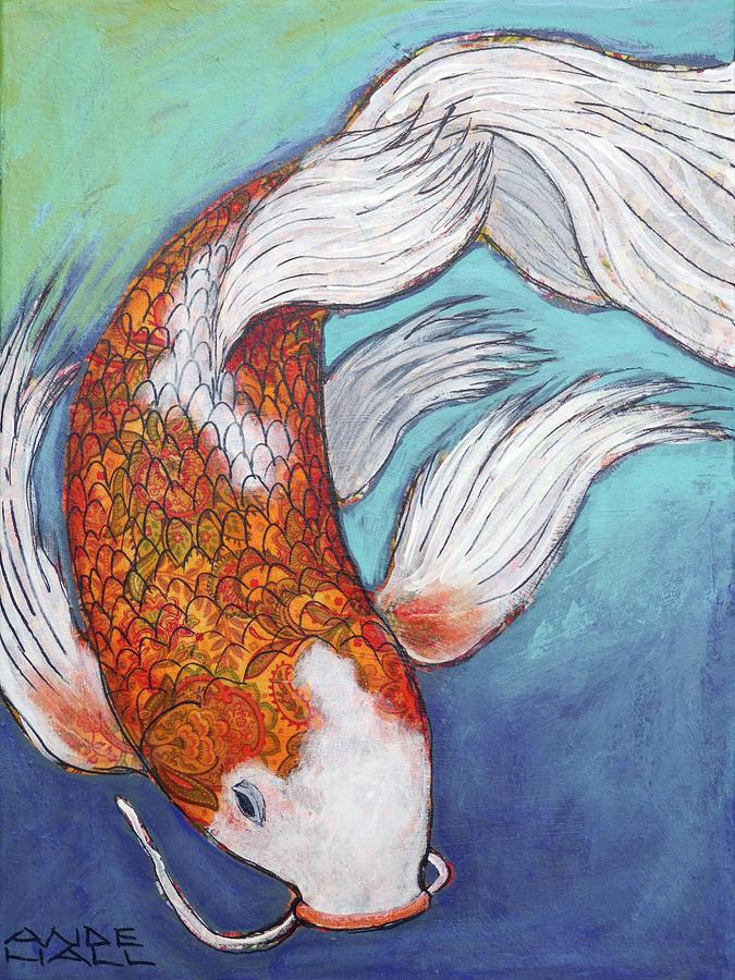 Paisley Koi by Ande Hall