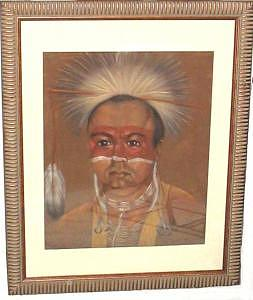 Paiute Dancer Painting by Margaret A Clark Price