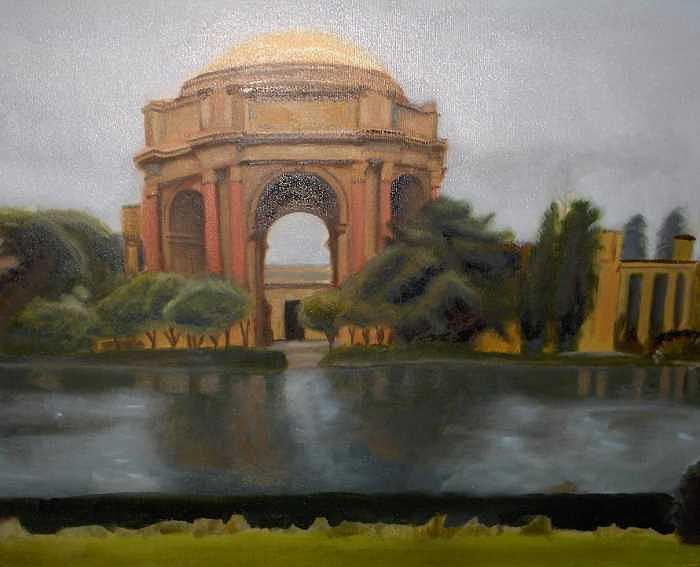 Palace Of Fine Art Painting by Christian Lee