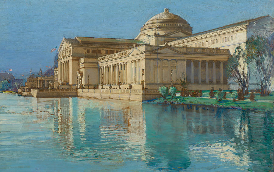 Childe Painting - Palace Of Fine Arts by Childe Hassam