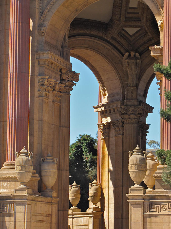 Arches Photograph - Palace Of Fine Arts by Leslie Brashear