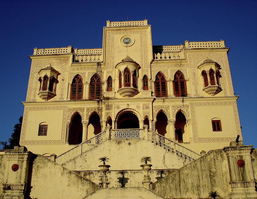 India Photograph - Palace Of The Maharaja Of Tehri-garhwal Near Rishikesh, India by Misentropy