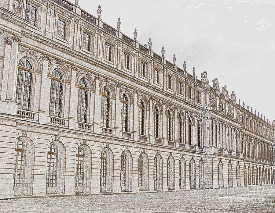 France Photograph - Palace Of Versailles by Amanda Barcon