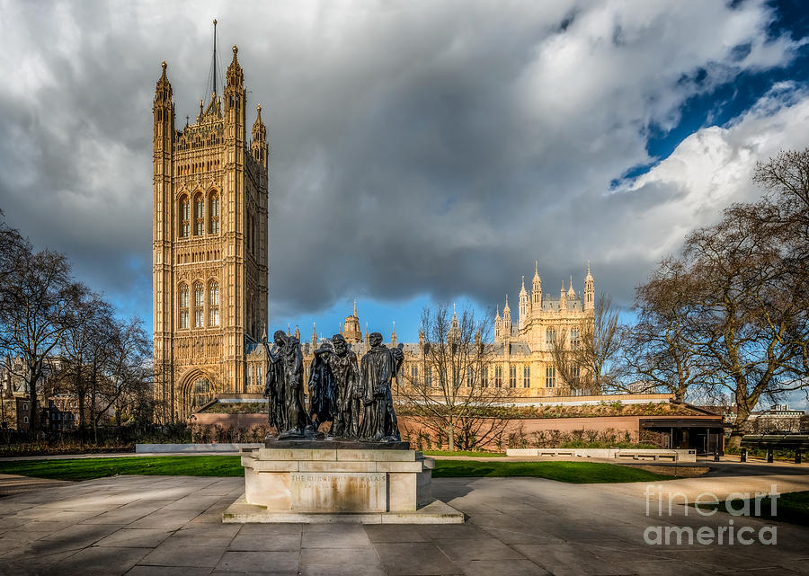 London Photograph - Palace Of Westminster by Adrian Evans