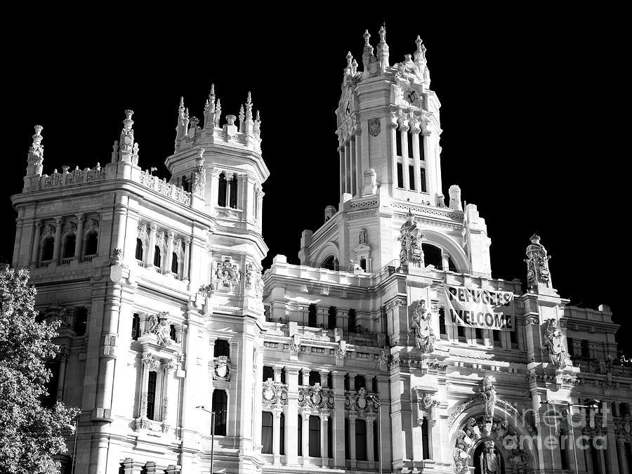 Palacio De Cibeles Madrid By John Rizzuto