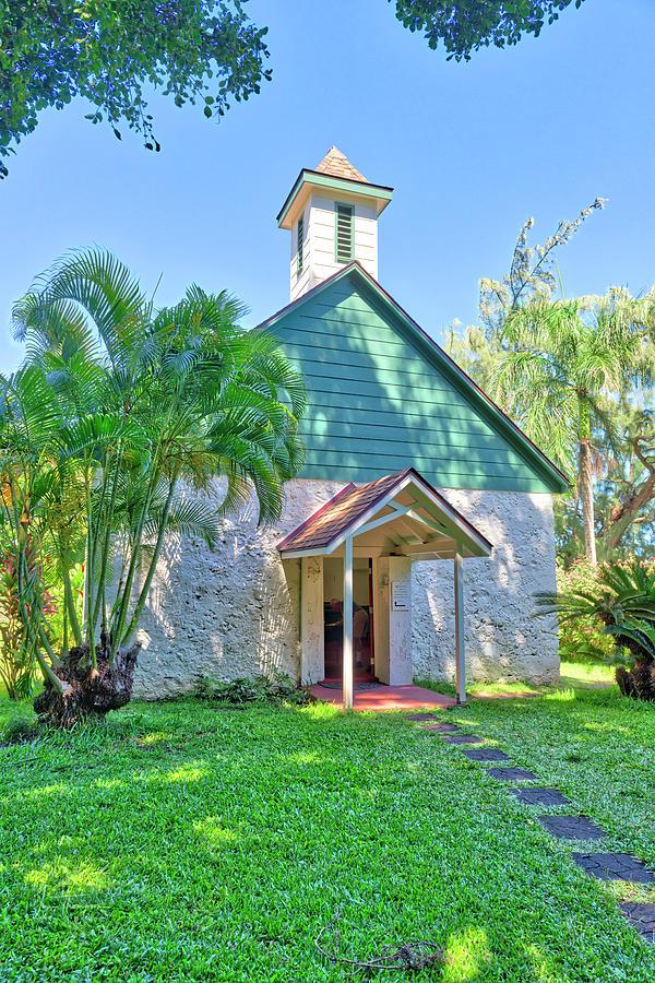 Church Photograph - Palapala HoOmau Congregational Church by Jim Thompson