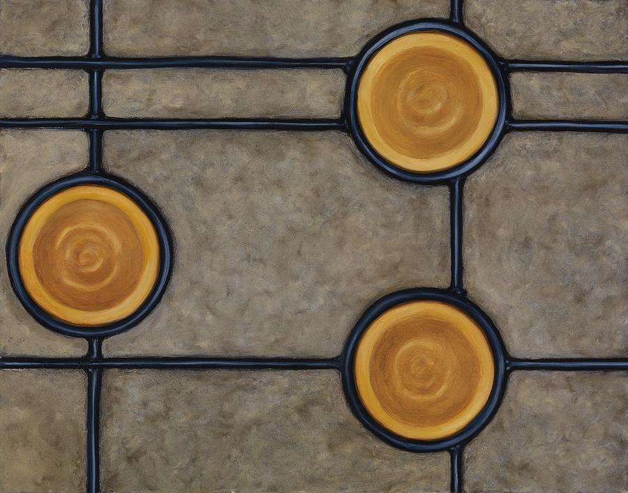 Circles Painting - Palatial by Don Mullins