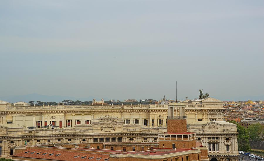 Italy Photograph - Palazzo Di Giustizia by JAMART Photography