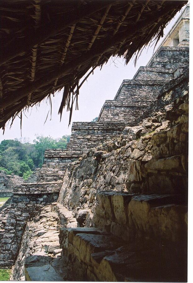 Palenque 2 Photograph by Chris Hogger