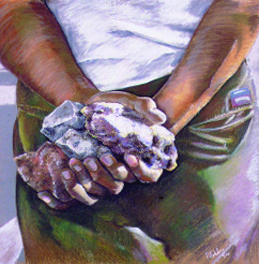 Pastel Painting - Palestine by Paul Autodore