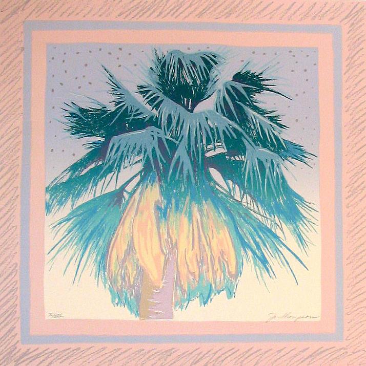 Palm Mixed Media - Palm 1 by Jo Thompson
