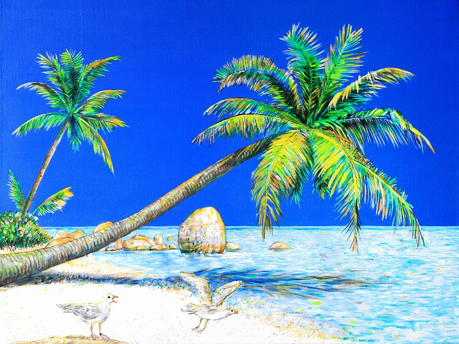 Landscape Painting - Palm Beach Number Five by Daniel House