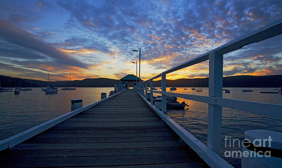 Palm Beach Wharf At Dusk Photograph by Sheila Smart Fine Art Photography