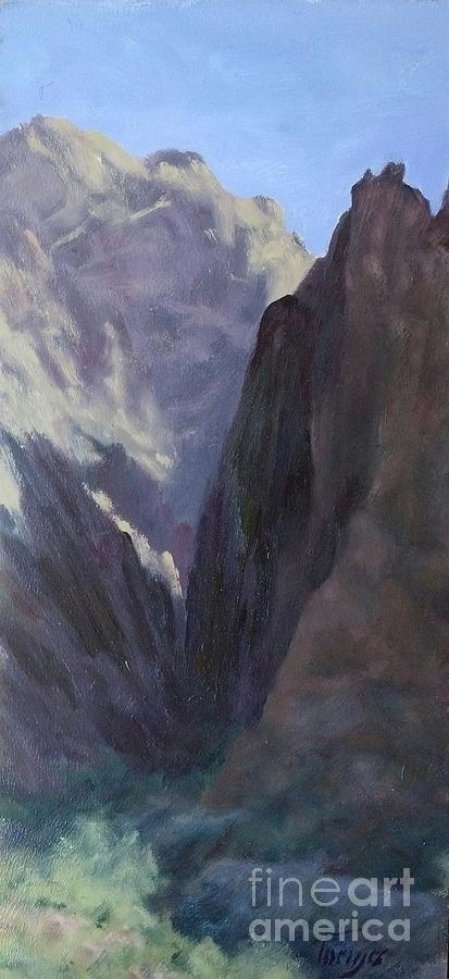 Palm Canyon Portal by James H Toenjes