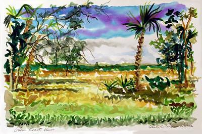 Palm Coast Painting - Palm Coast 02a by Ralph Papa