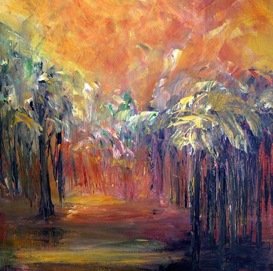 Palm Passage by Roberta Rotunda