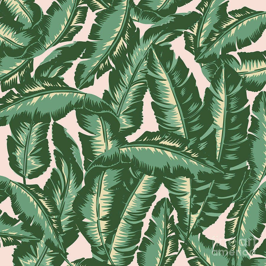 Leaves Digital Art - Palm Print by Lauren Amelia Hughes