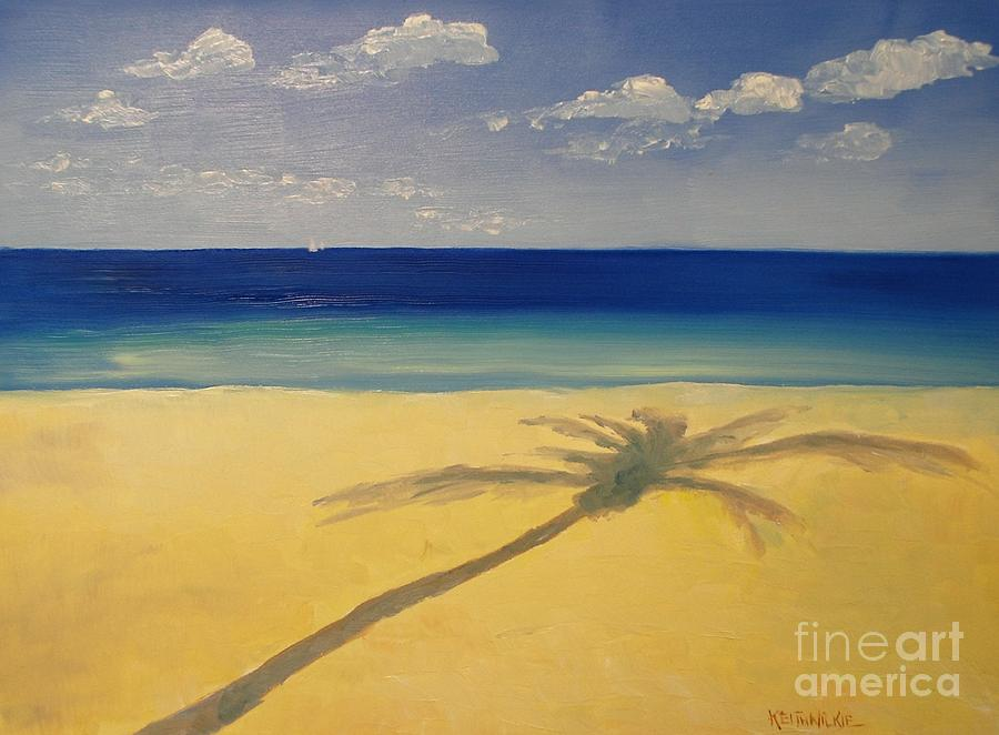 Palm Shadows by Keith Wilkie